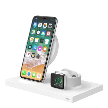 Boost Up Special Edition Wireless Charging Dock For Iphone Apple Watch Usb A Port Whit Apple Watch Charging Iphone Charging Station Iphone Charging Dock