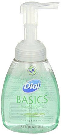 Dial 1325977 Basics Hypoallergenic Foaming Hand Lotion Soap Manual