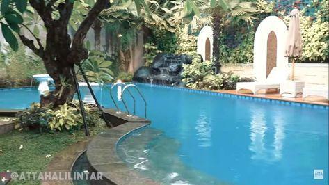 Padukan Unsur Emas 10 Potret Rumah Andre Taulany Yang Mewah Dan Klasik Klasik Kolam Kemewahan