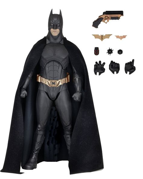 NECA Batman Begins: Batman Bale Action Figure (1/4 Scale)