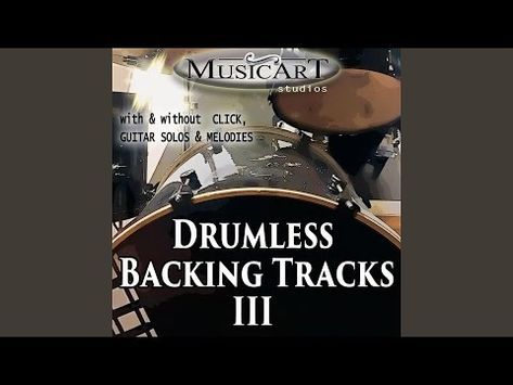 Blues Rock Drumless Backing Track 100 Bpm With Guitar Solo Youtube Backing Tracks Guitar Solo Guitar