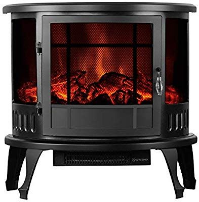Kuppet 23 Standing Electric Fireplace Space Heater In Rooms Free Standing Electric Fireplace Wall Mount Electric Fireplace Space Heater Fireplace