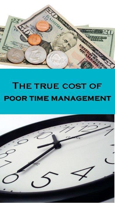 poor time management