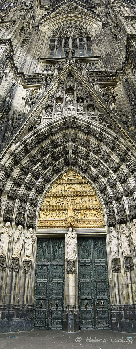 The Cathedral of Cologne - we saw this beautiful, huge cathedral in May 2014
