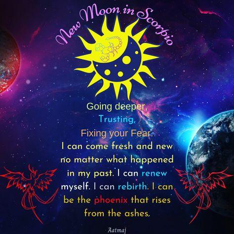As per western astrology its new moon in scorpio. #scorpio