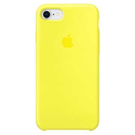 Apple Silicone Case For Iphone 8 Iphone 7 Flash Walmart Com Iphone Cute Iphone 7 Cases Yellow Iphone Case
