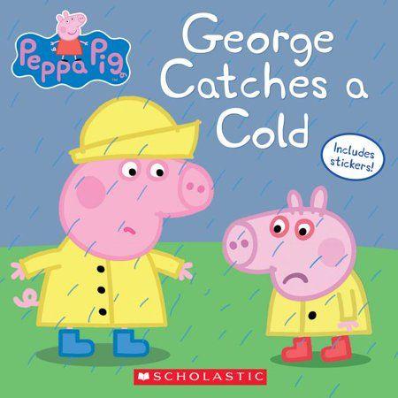 Peppa Pig George Catches A Cold Paperback Walmart Com In 2021 Peppa Pig Books Peppa Pig Wallpaper Peppa Pig