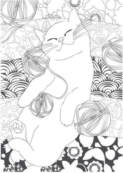 고양이 컬러링북 도안 색칠공부 프린트 한 번도 고양이를 키운 적이 없어서 고양이는 컬러링북 도안으로 색칠책 실크 스크린 컬러링 시트