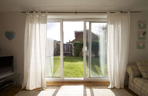 60 Best Sliding Glass Doors Ideas For Your Dream Home Genel Sliding Glass Door Curtains Glass Door Curtains Living Room Door
