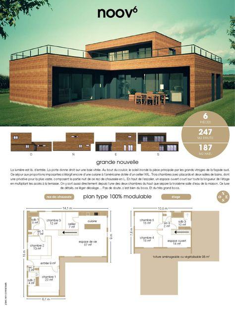 Catalogue Du Constructeur Francais De Maisons A Ossature Bois