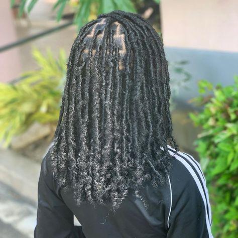 Black Girl Braided Hairstyles, Faux Locs Hairstyles, Twist Braid Hairstyles, Baddie Hairstyles, Girl Hairstyles, Wedding Hairstyles, Natural Hair Updo, Natural Hair Styles, Natural Hair Accessories