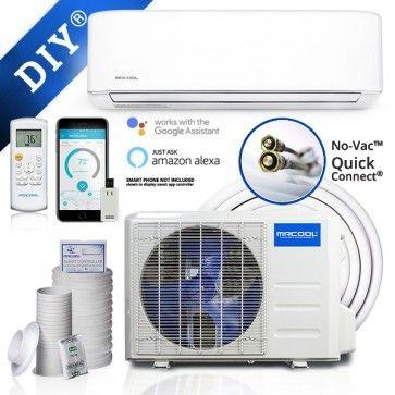 Mrcool Diy 24k Btu 20 Seer Ductless Heat Pump Split System 3rd