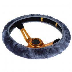 Miekki Wlochaty Pokrowiec Na Kierownice 3 Kolory Leather Leather Bracelet Jewelry