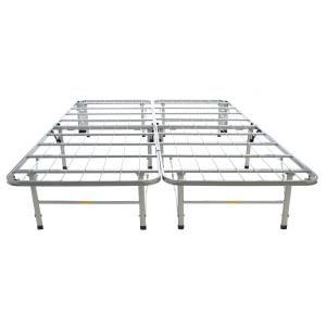 Hollywood Bed Frame The Bedder Base Queen Metal Bed Frame Silver Queen Metal Bed Bed Frame Metal Beds