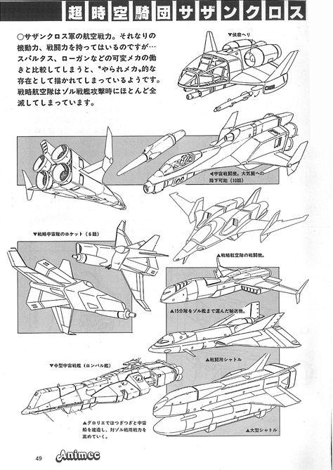 超時空騎団サザンクロス と 故アニメック - ロボテック・クロニクル