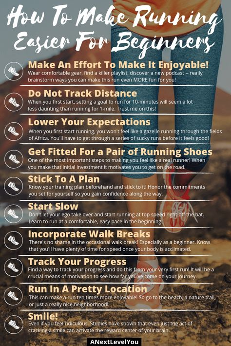 Find out how to make running easier with these tips!