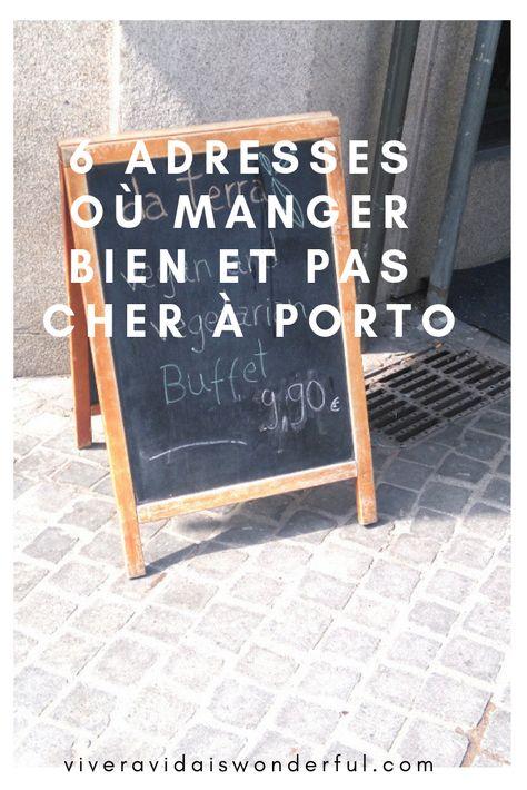 Manger pas cher à Porto