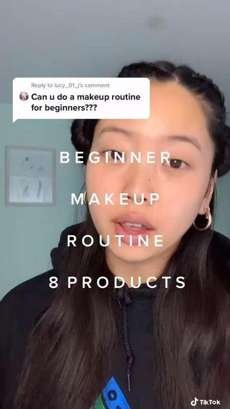 Eyebrow Makeup Tips, Edgy Makeup, Minimal Makeup, Cute Makeup, Skin Makeup, Natural School Makeup, Natural Makeup, Creative Makeup Looks, Simple Makeup