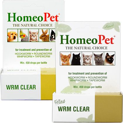 Homeopet Wrm Clear With Images Natural Dewormer For Dogs Cat Medicine Tapeworms In Dogs