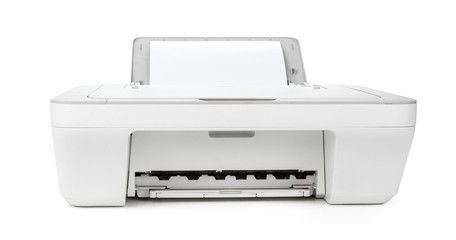 Ink Jet Printer Isolated On White Background Sponsored