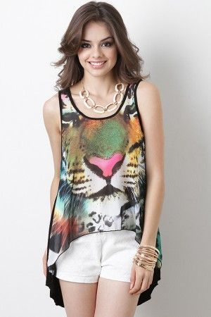 Jungle Frenzy Top