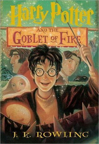 Harry Potter And The Goblet Of Fire By J K Rowling Harry Potter Book Covers Goblet Of Fire Book Harry Potter Goblet