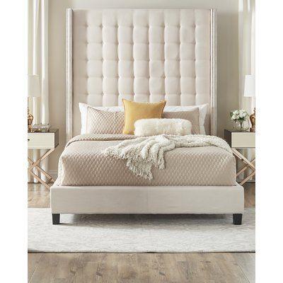 Monett Tufted Upholstered Standard Bed Adjustable Beds Bedroom Collections Furniture Furniture