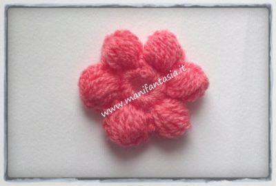 Fiori Uncinetto Punto Nocciolina Crochet Pinterest