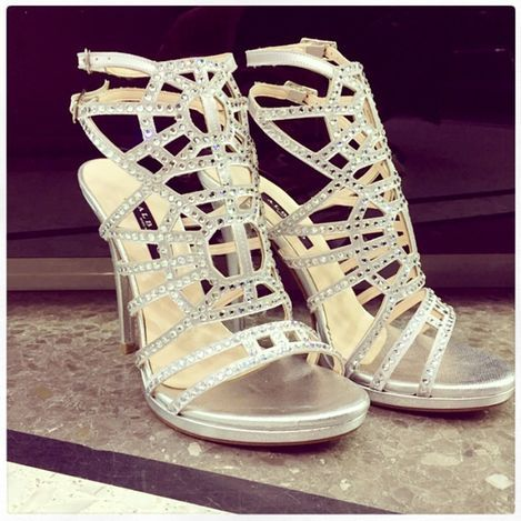 Silver Shoes With Albano LuxurySs15 SwarovskiFashion 8nONwm0v