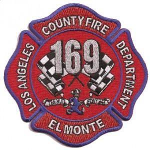 Fire Patch California LA County Station 169