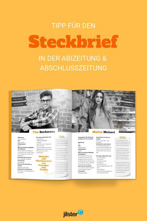 Abizeitung Abizeitung Zeitung Und Steckbrief