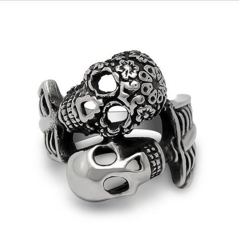 Item Specification: Setting Type: Invisible Setting Width: 30mm Rings Type: Cocktail Ring Metals Type: Stainless Steel Material: Metal This Itemis Not Available In Stores. Clickadd To Cartto Order Yours!