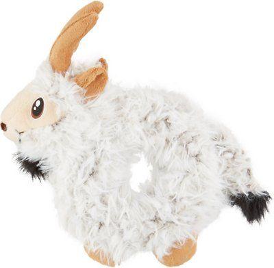 Kong Trekkers Goat Dog Toy Medium Large Chewy Com Dog Toys
