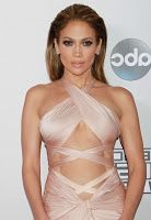 Jennifer Lopez Hot Stills on Red Carpet American Music Awards in Los Angeles
