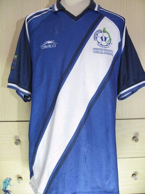 26a69574562 GUATEMALA ATLETICA WORLD CUP 2002 CAMISETA VTG FOOTBALL JERSEY SOCCER SHIRT  XL #ATLETICA #GUATEMALA