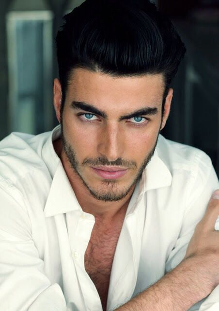 Image Result For Male Latin Model With Beard Black Hair Blue