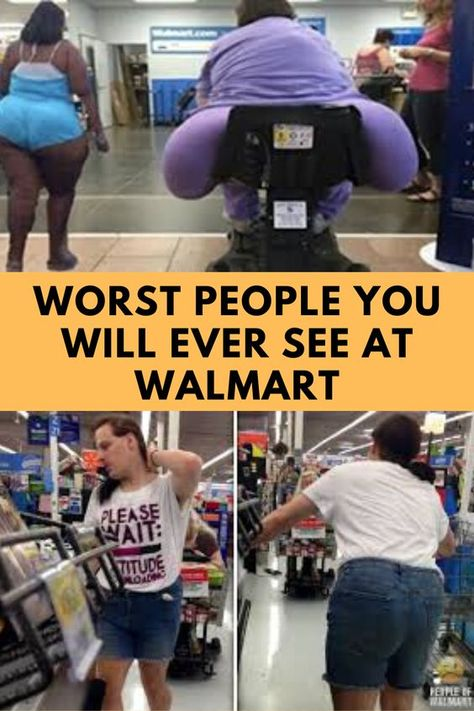 Worst People You Will Ever See At Walmart#OMG #WTF #Humor #Gags #Epic #Lol #Memes #Weird #Hot #Bikni #Fails #Fun #Funny #Facts #Hot Girls #Entertainment #Trending #Interesting