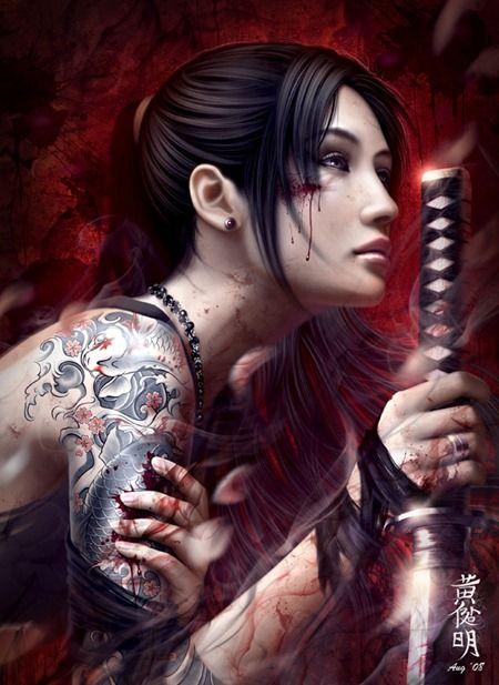 women warriors | Fantasy Women Warriors
