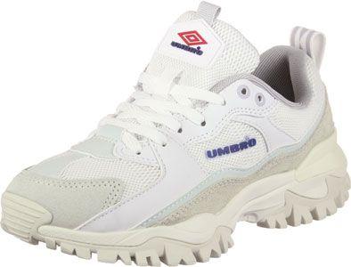umbro bumpy trainers in white