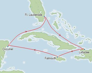 Destinations Fort Lauderdale Florida Labadee Haiti Falmouth