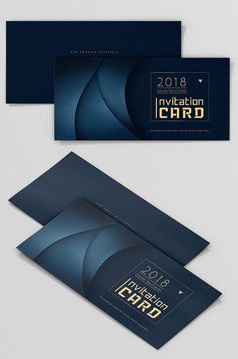 Dark Blue Atmosphere Flyer Invitation Pikbest Templates