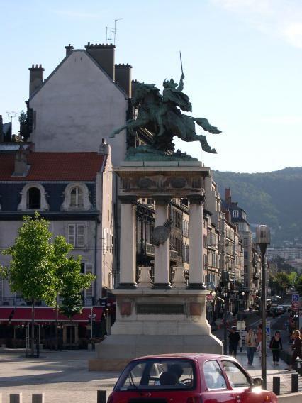 Statue équestre de Vercingétorix. Clermont-Ferrand