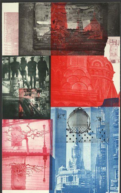 Robert Rauschenberg, Soviet / American Array V @artsy