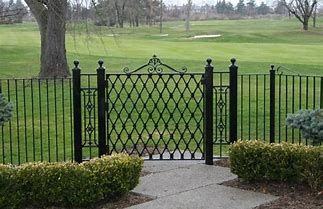 Wrought Iron Picket Fence Bing Images Wrought Iron Fences