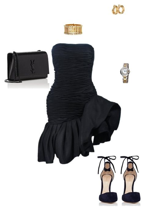 A fashion look from October 2016 featuring ruched dress, high heel shoes and Yves Saint Laurent. Browse and shop related looks. Kpop Fashion Outfits, Stage Outfits, Dope Outfits, Classy Outfits, Chic Outfits, Pretty Outfits, Black Girl Fashion, Fashion Looks, Womens Fashion
