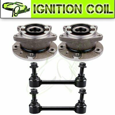Details About For 2003 2011 Volvo Xc90 Rear Wheel Bearing Hub Sway Bars 4pcs Suspension Kit In 2020 Volvo Xc90 Grease Fittings Toyota Prius