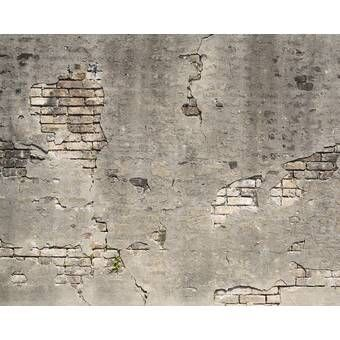 Pin By Hlucienne On Brick In 2020 Broken Concrete Concrete Wall Old Brick Wall