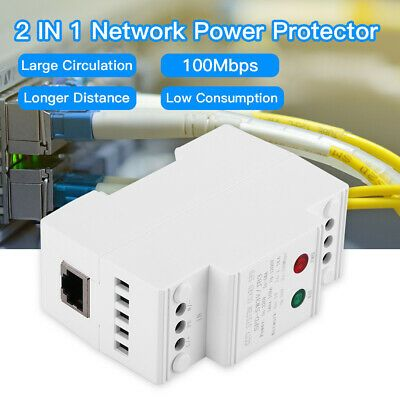Details About Power Network Surge Protector Spd Thunder Arrester Lighting Protector Protection In 2020 Surge Protector Power