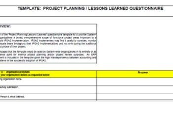 Agile Lessons Learned Templates Document Examples And Formats Template Sumo Lessons Learned Lesson Learning