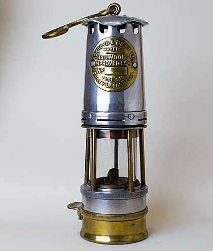 A Photo Of A Steel Glass And Brass Miners Safety Lamp Chatterley Whitfield Colliery Uk Coal Mine Ancient Oil Lamp Steel Lamp Lamp Tattoo